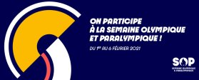 Semaine Olympique et Paralympique du 01 au 06/02/2021 - © Paris 2024